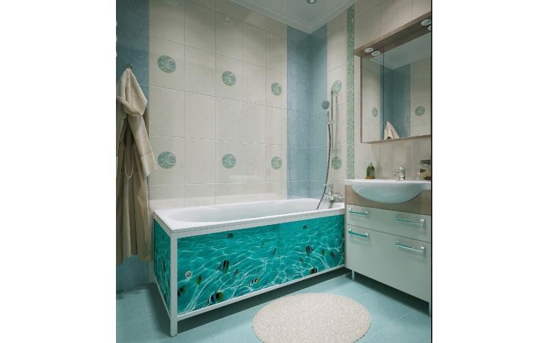 Экран для ванной в леруа мерлен